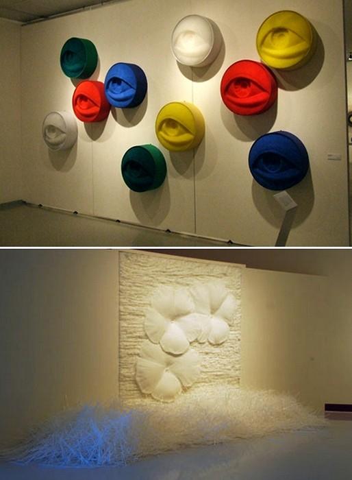 Скульптуры из пластиковых соломинок Сан Сик Хонга (Sang-Sik Hong)