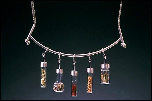 *Приправленные* серебряные украшения от Сары Худ (Sarah Hood)