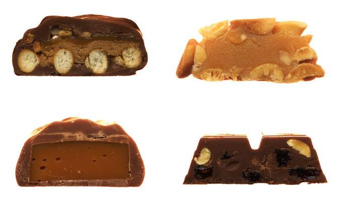 Батончики Take 5, Milky Way - Simply Caramel, PayDay и Chunky из коллекции Scandybars