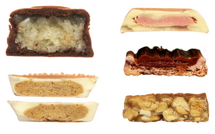 Scandybars: отсканированные сладости со всего света