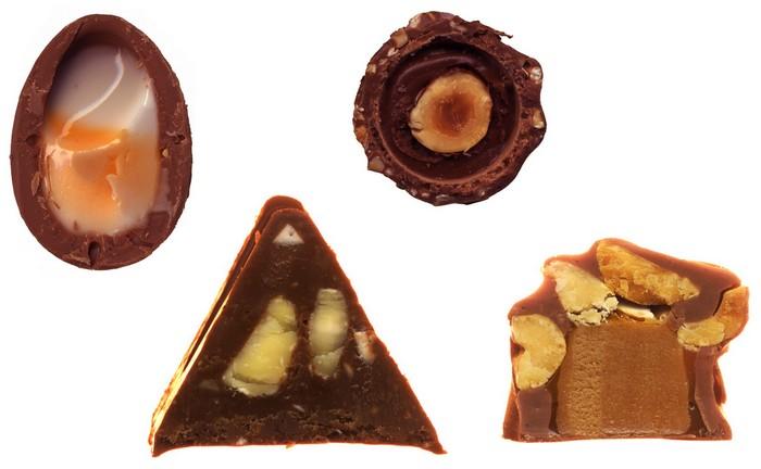 Scandybars: отсканированные Cadbury Creme Egg, Toblerone, Ferrero Rocher и Baby Ruth