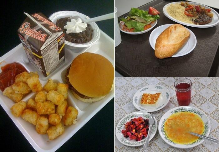 США, Франция, Россия: школьные обеды разных стран
