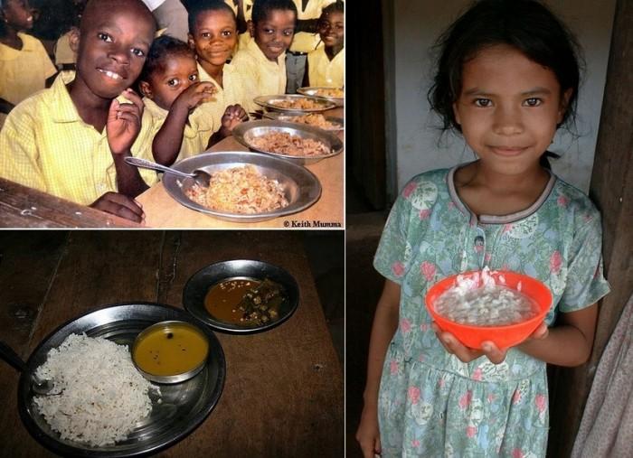 Гаити, Индия, Гондурас: школьные обеды разных стран
