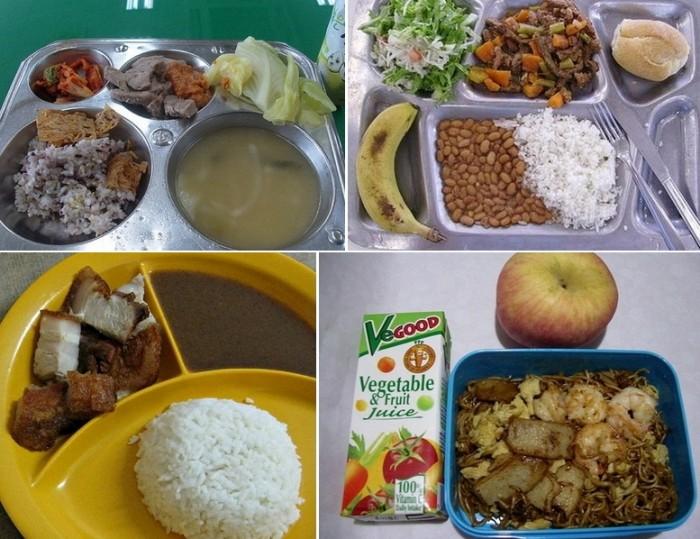 Южная Корея, Филиппины, Бразилия, Малайзия: школьные обеды разных стран