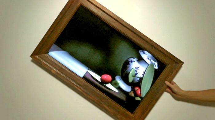 Интерактивная картина Still Life не на холсте, а в телевизоре