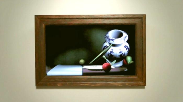 Интерактивная картина Still Life, почти настоящий натюрморт от Скотта Гарнера