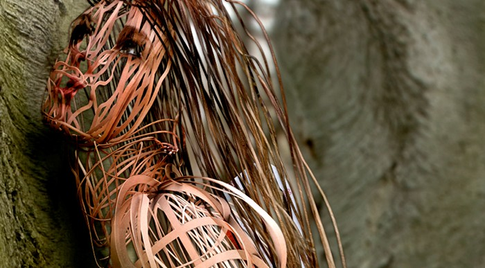 Scribbled Line People, электронные скульптуры из фотографий