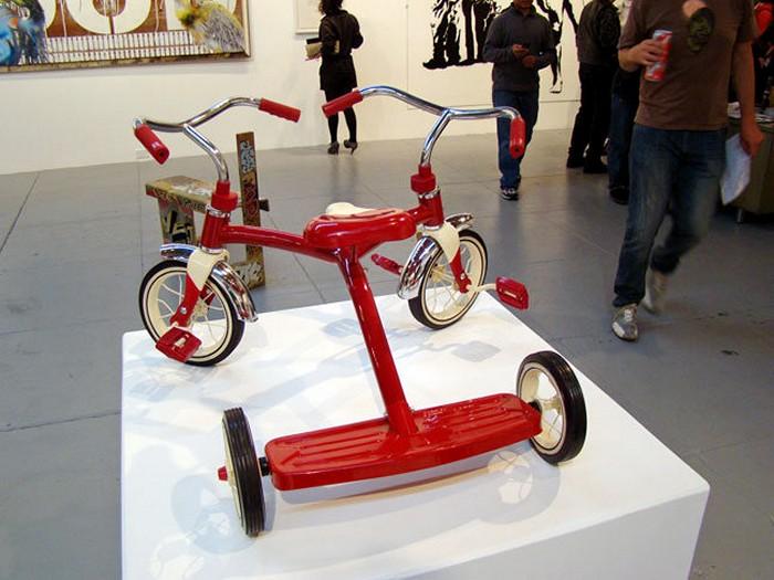Концептуальные велосипеды родом из детства. Скульптуры Серхио Гарсии (Sergio Garcia)