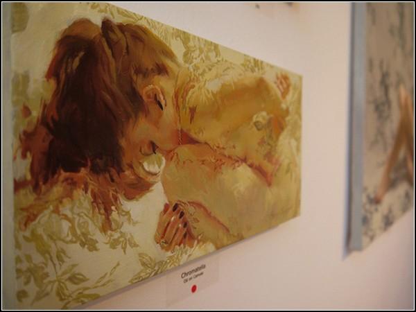 Обнаженные дамы с картин Серхио Лопеса (Sergio Lopez). Серия Painted Roses