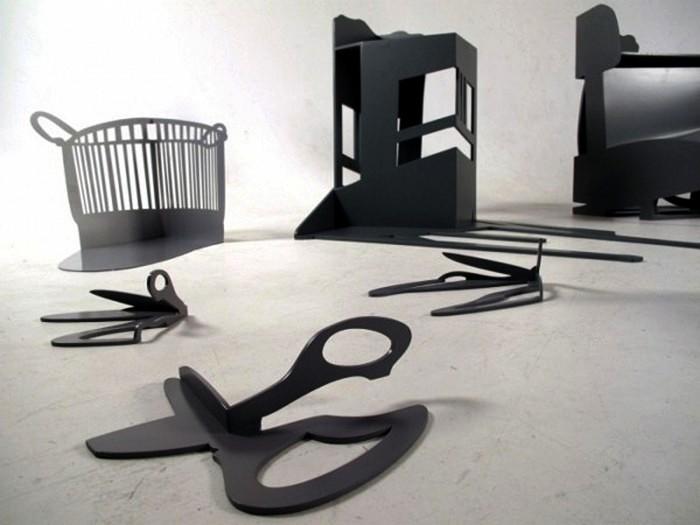 Shadow Construction, *теневой* арт-проект дизайнера Marte Haverkamp