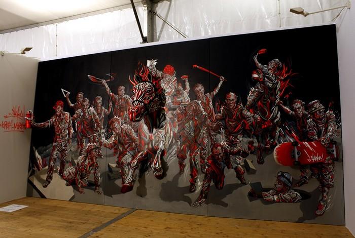 Трехмерный поп-арт. Необычные картины художника Shaka