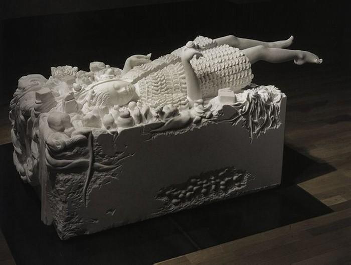 Shinichi Hara и его  невероятные скульптуры из цельного мрамора