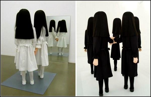 *Стеснительные* скульптуры Саймона Шуберта (Simon Schubert)