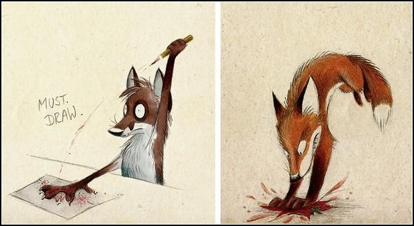 Мультфильм про лису и