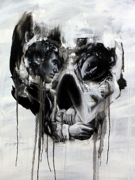 Черепа-иллюзии. Необычный арт Тома Френча