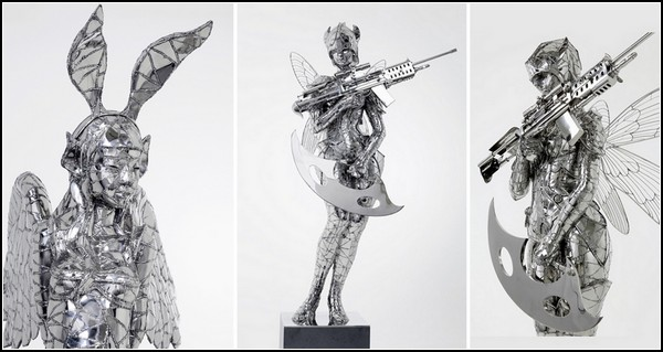 Невероятные стальные скульптуры Со Хун Ву (So Hyun Woo)