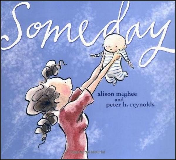 *Someday*. Совсем не детская книга о детях и их родителях.