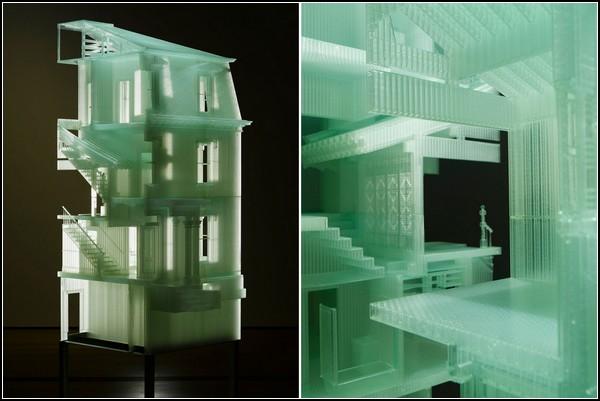 Другой знаменитый проект скульптора: Дом Внутри Дома (Home Within Home)
