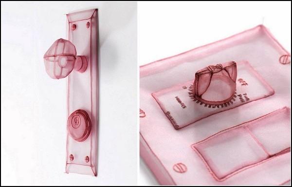 Нейлоновые скульптуры-инсталляции проекта Specimen Series от Do Ho Suh