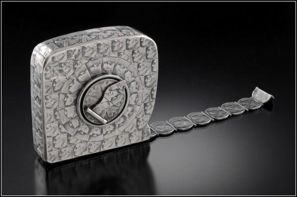 Рулетка, сделанная из монет, от Стейси Ли Веббер (Stacey Lee Webber)