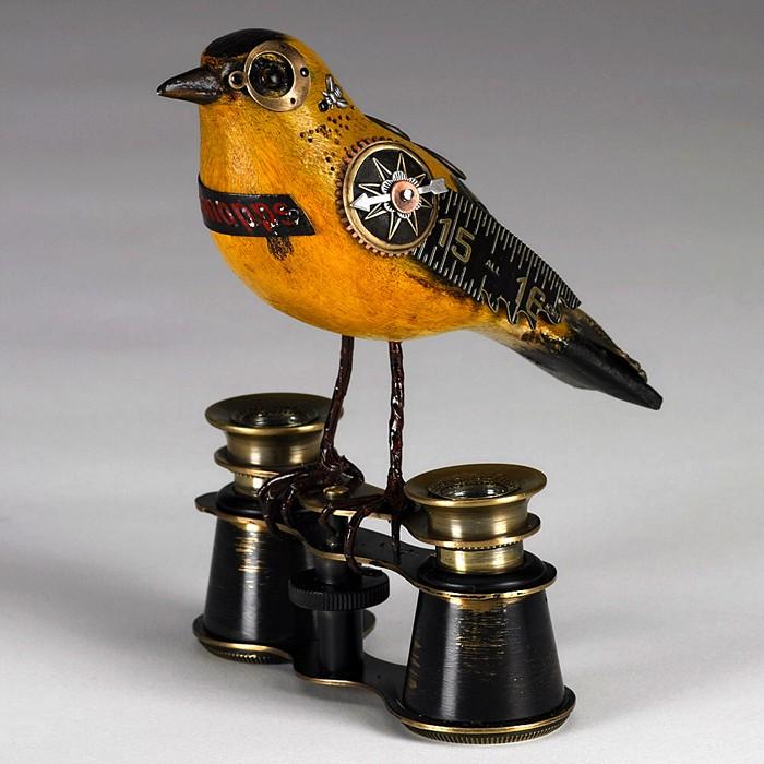 Song Birds из найденных объектов