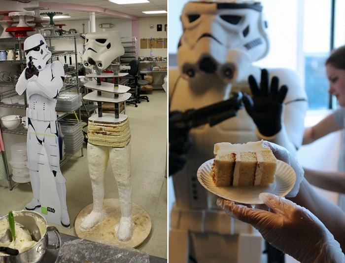 Штурмовик (Stormtrooper)  - торт, и очень вкусный