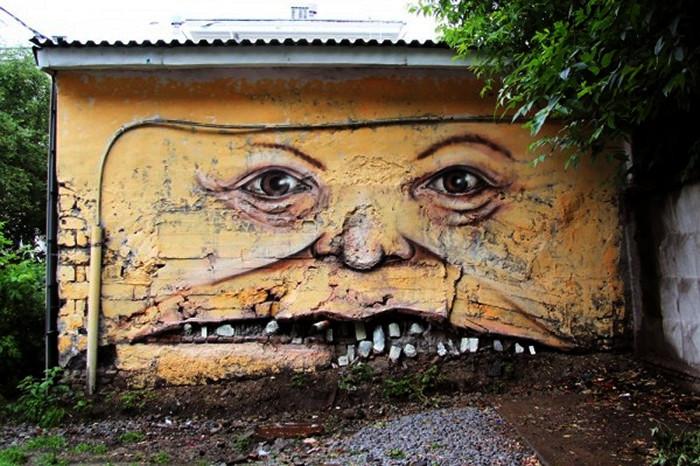 Toothyman, один из лучших в мире арт-проектов Никиты aka Nomerz