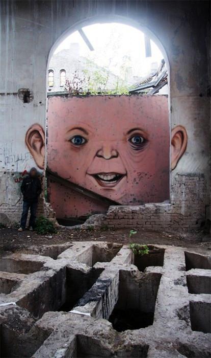 Креативные уличные арт-проекты Никиты aka Nomerz