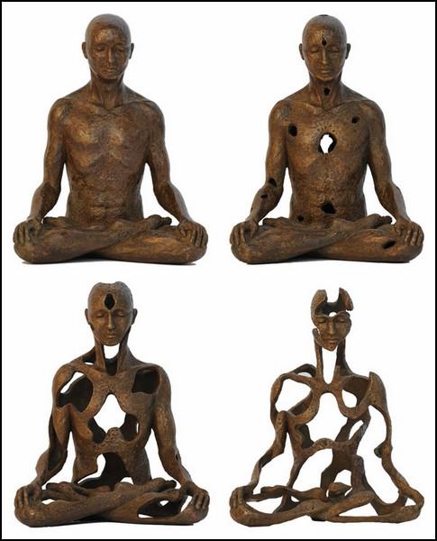 Восточно-философские скульптуры от Сукхи Барбер (Sukhi Barber)