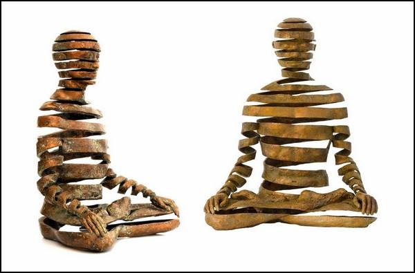 Традиции востока и запада в скульптурах британского автора