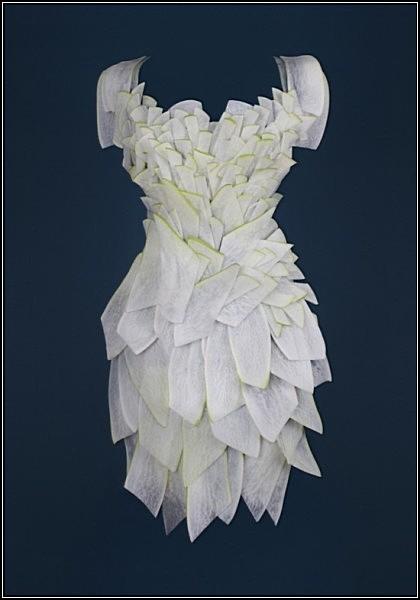 Съедобные платья из коллекции Wearable Foods