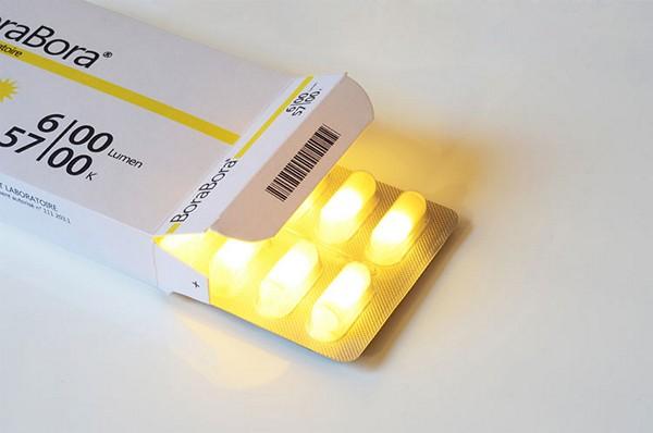Sunlight Pills, таблетки *с солнцем* от фарм-компании Sunset Laboratories