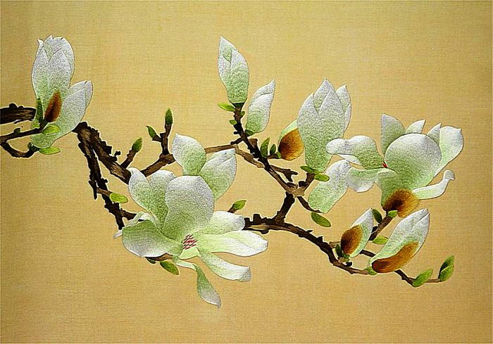 Древнее китайское искусство шелковой вышивки