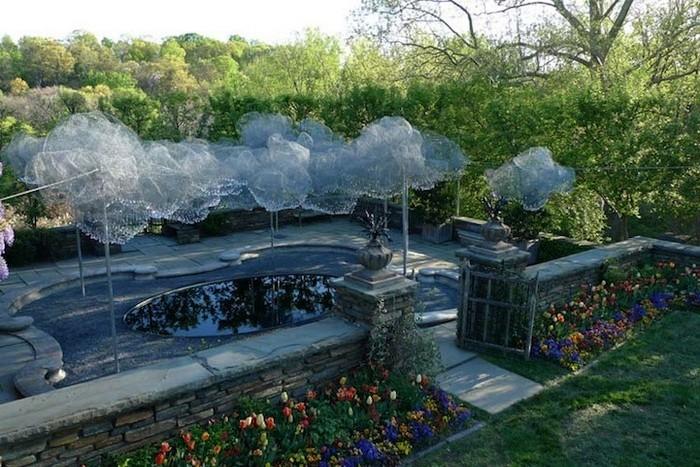 Инсталляция Cloud Terrace от Andy Cao и Xavier Perrot