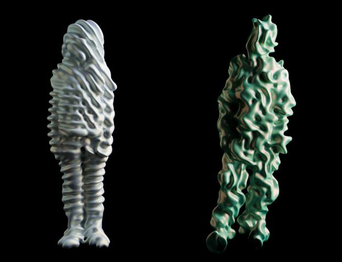 Странные объекты и формы в арт-проекте TRANS Sculptures