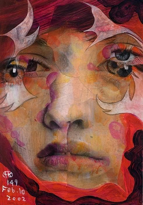 Эмоциональная серия портретов Broken Faces от Takahiro Kimura