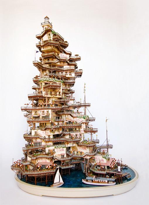 Жилое дерево - бонсай. Необычные скульптуры Takanori Aiba