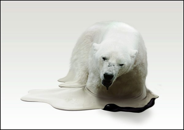 Melting Animals. Экологический арт-проект скульптора Такеши Кавано (Takeshi Kawano)