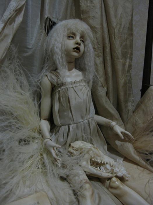 Мертвые куклы из серии Necro Nymphys от Tari Nakagawa