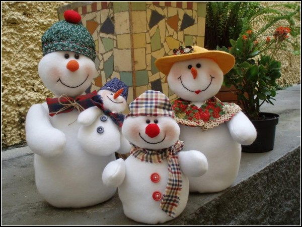 Тряпичные куклы-милашки от Tia Fada