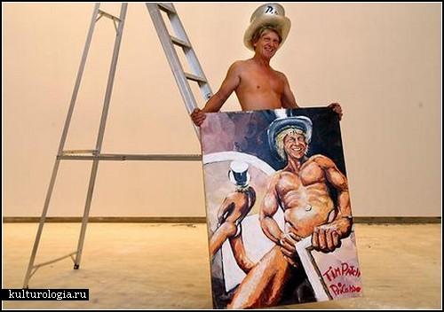 Гени(т)альные картины Тима Патча (Tim Patch) aka Prickasso