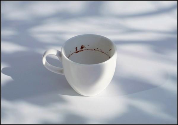 Крошечные рисунки в чашках. Tiny landscape in the coffee cup