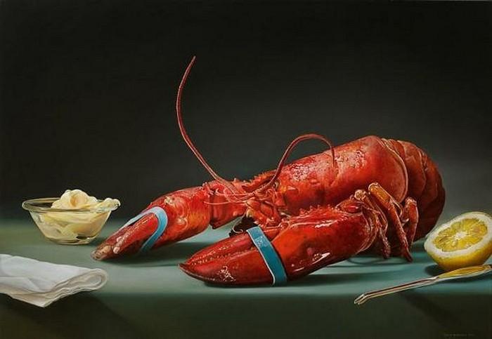 Мегареалистические картины с изображением еды от Tjalf Sparnaay