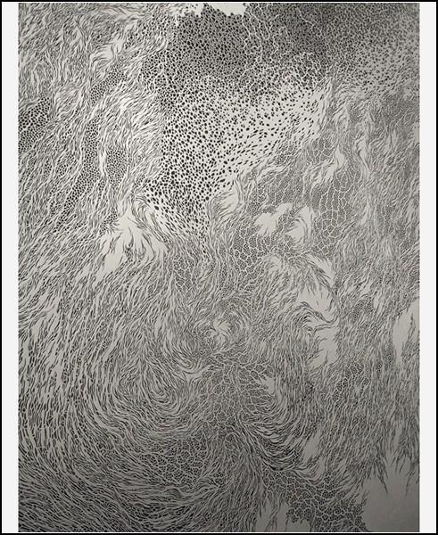 Резьба по бумаге от Томоко Шиойясу (Tomoko Shioyasu)