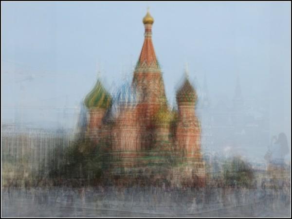 .Собор Василия Блаженного в Москве. Коринн Вайоннет (Corinne Vionnet)
