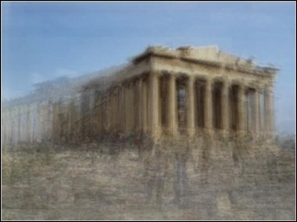 Афинский акрополь от Коринн Вайоннет (Corinne Vionnet)