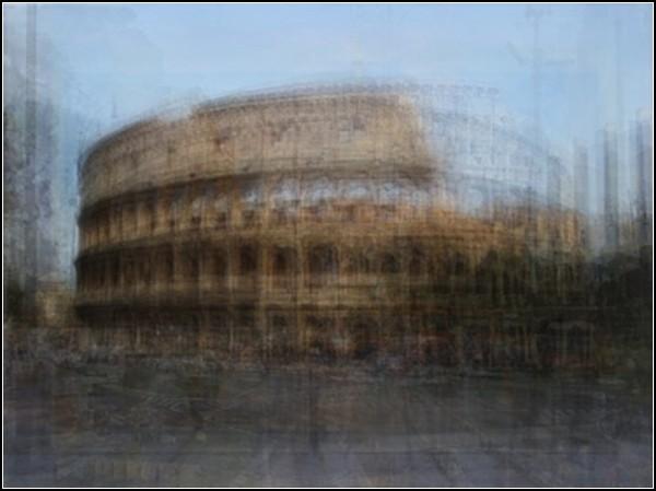 Римский Колизей. Туристический сюрреализм от Коринн Вайоннет