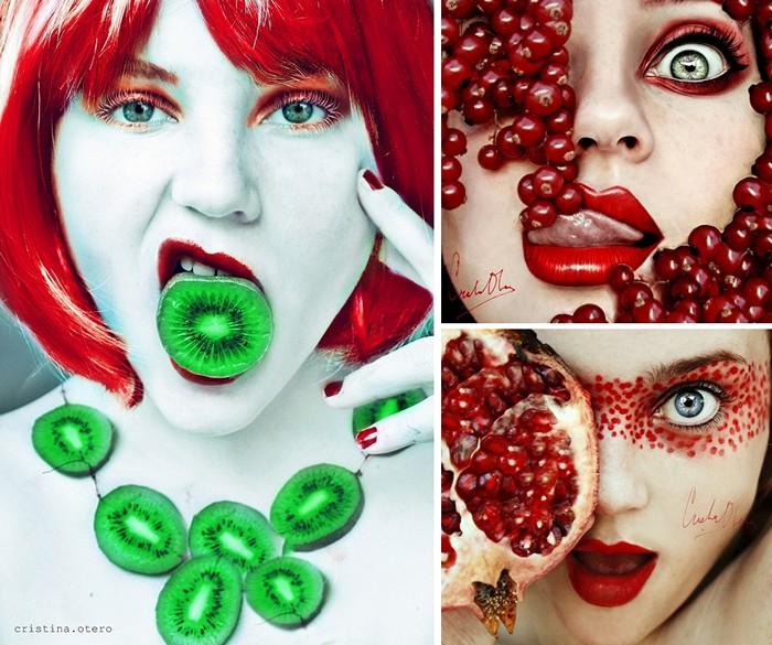 Tutti Frutti, фруктовые автопортреты Кристины Отеро