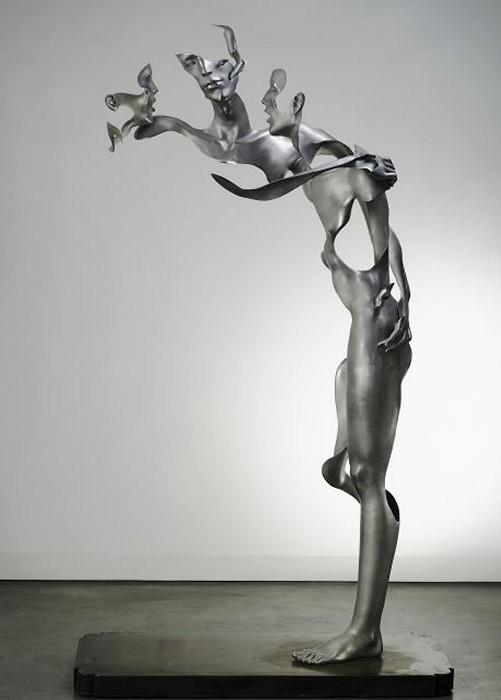 Flash memory: неоконченные скульптуры арт-трио Unmask Group
