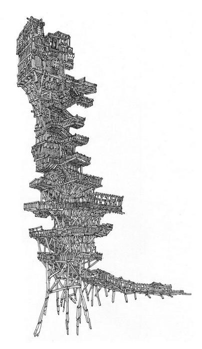 Тандем архитектуры и живописи в произведениях Васко Моурао (Vasco Mourao)